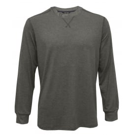 Billy Modal Stretch Luxe Jersey Long-Sleeve Top, Marl Grey