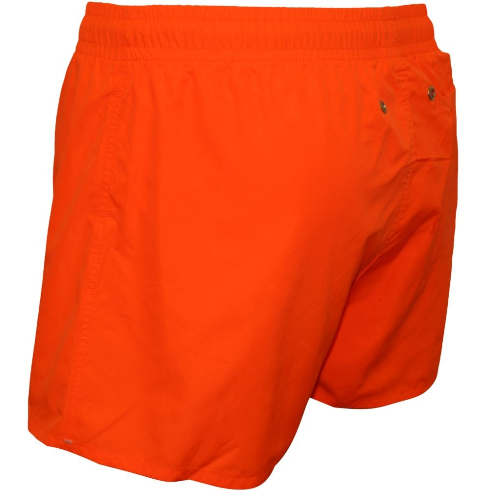 43e8b1c2ec8 HOM Men's Swimwear | Marine Swim Shorts, Orange | UnderU