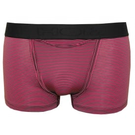 Simon Stripe Modal Stretch HO1 Boxer Trunk, Pink/Purple