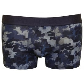 Urban Camo Boxer Trunk, Blue