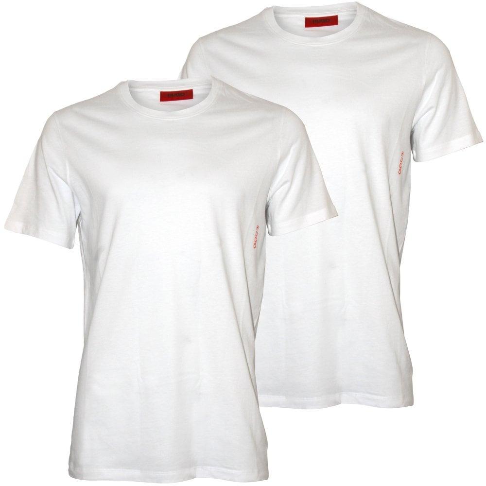 1194083d9 Hugo 2-Pack Crew-Neck T-Shirts, White | HUGO by Hugo Boss | UnderU