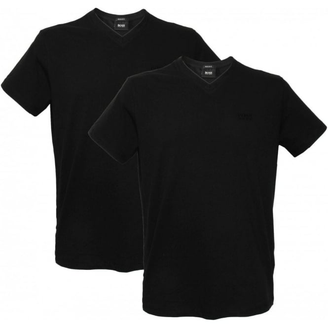 Hugo Boss 2-Pack 'Brothers 01' T-Shirts, Black