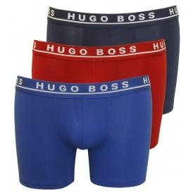 3-Pack Boxer Briefs, Red/Navy/Royal