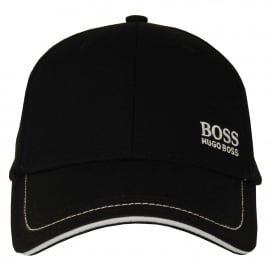 'Cap 1' Cap by BOSS Green, Black