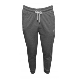 Heritage Cuffed Jogging Bottoms, Marl Grey