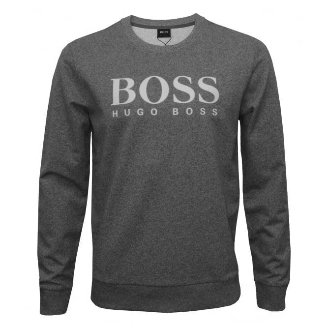 08922de17 Hugo Boss Green Mens Salbo Sweatshirt, Light Grey Logo Jumper · Hugo Boss  Logo Sweatshirt: Hugo Boss Heritage Logo Sweatshirt, Marl Grey