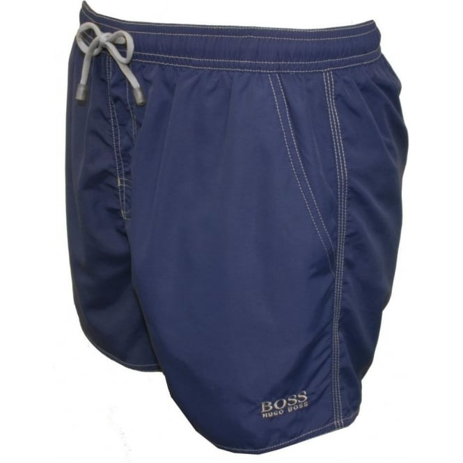 41770f6b6b930 Hugo Boss Lobster Swim Shorts, Blue | UnderU