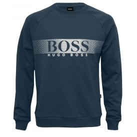 Logo Band Sweatshirt, Blue