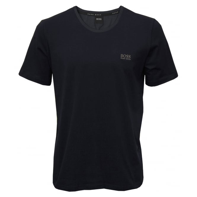 Hugo Boss Luxe Jersey Crew-Neck T-Shirt, Navy