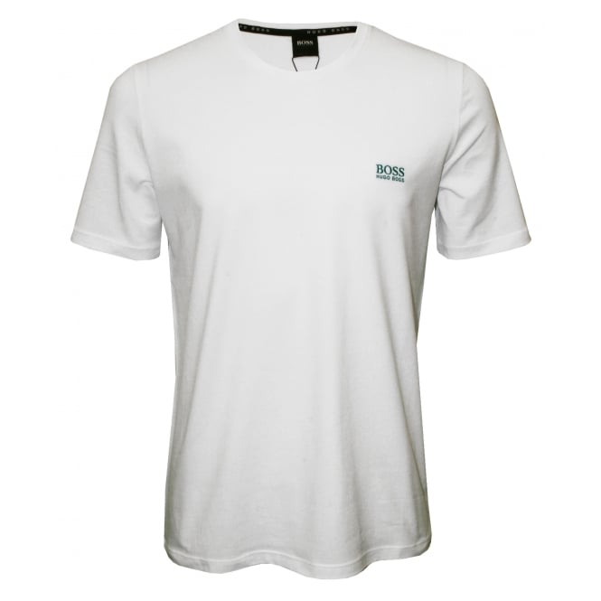 Hugo Boss Luxe Jersey Crew-Neck T-Shirt, White