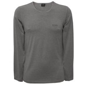 Luxe Thermal+ Long-Sleeve T-Shirt, Grey Heather