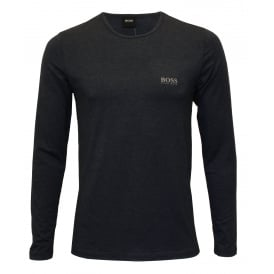 Luxe Thermal+ Long-Sleeve T-Shirt, Navy