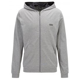Mix & Match Zip-Thru Hooded Jacket, Heather Grey