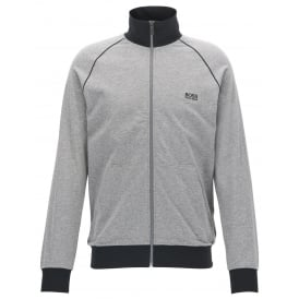 Mix & Match Zip-Thru Tracksuit Jacket, Heather Grey