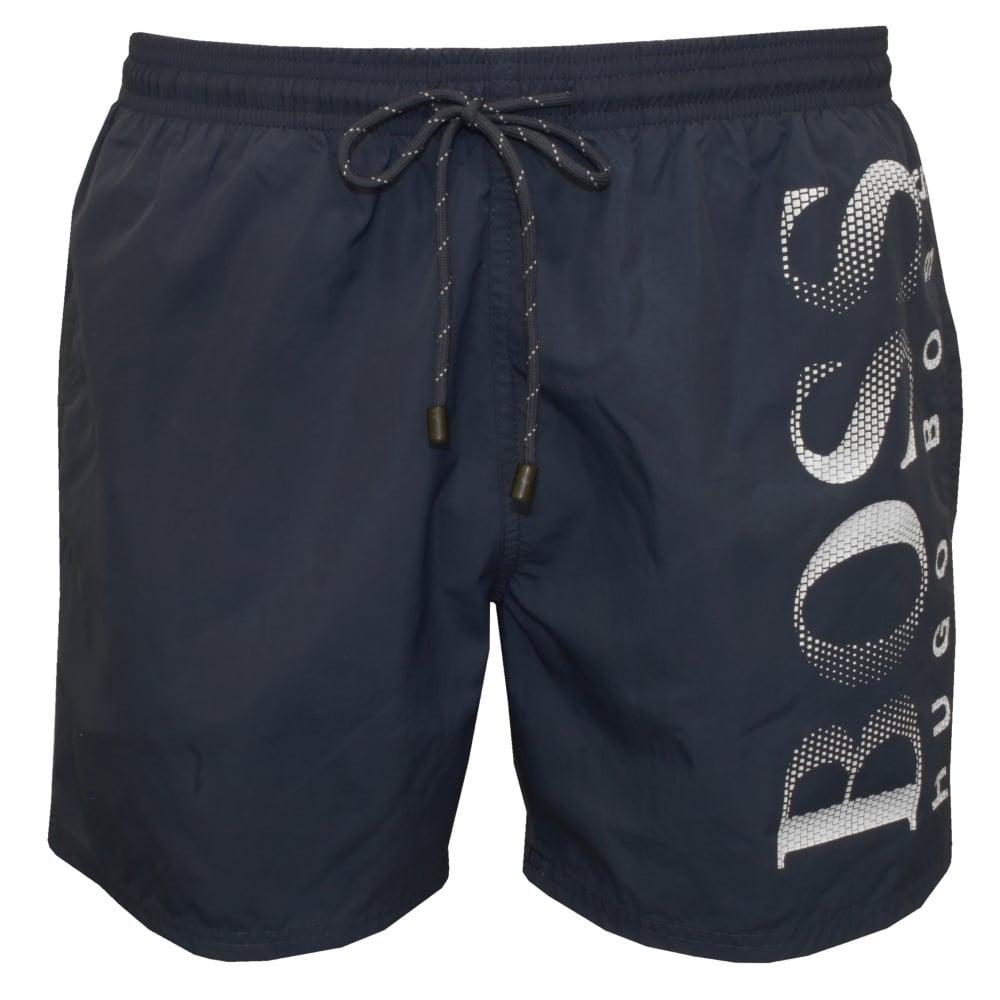 e255592b4 Hugo Boss Octopus Swim Shorts, Blue | Hugo Boss swimwear | UnderU