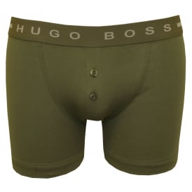 Original Button-Fly Boxer Brief, Dark Green