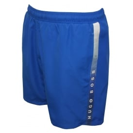 Side Logo Trim Seabream Swim Shorts, Blue