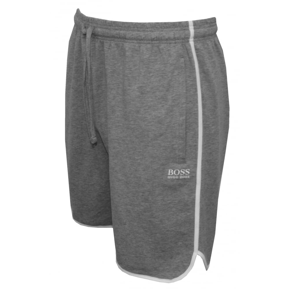 28a60b584 Hugo Boss Single Jersey Tracksuit Shorts, Grey | Hugo Boss UnderU ...