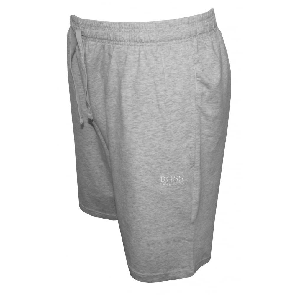 9993d746b Hugo Boss Single Jersey Tracksuit Shorts Light Grey | Hugo Boss ...