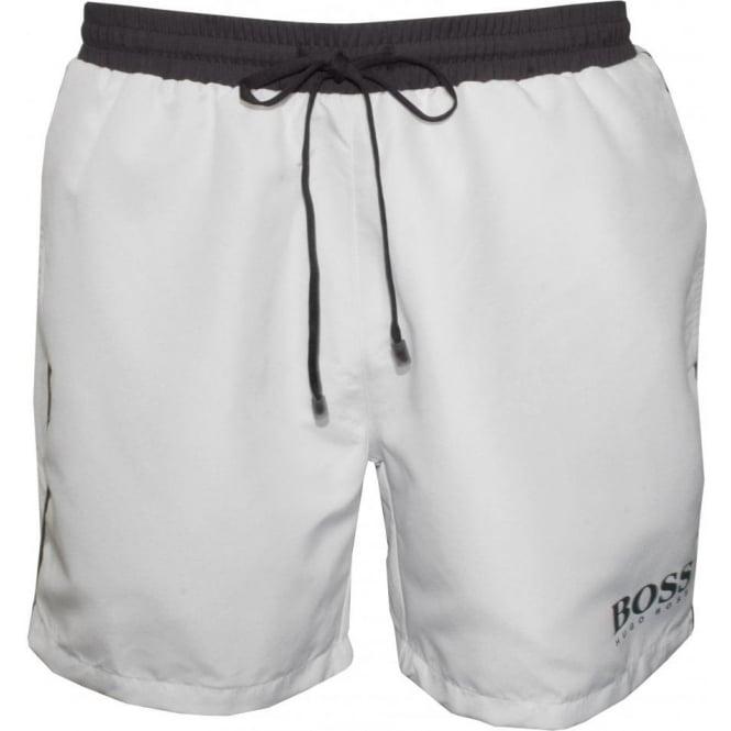 Starfish Swim Shorts, White