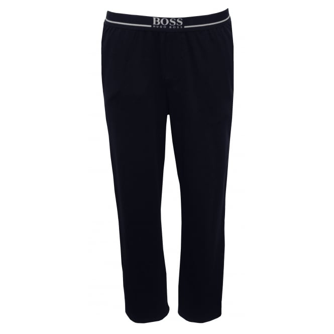 Hugo Boss Stretch Cotton Jersey Lounge Pants, Navy