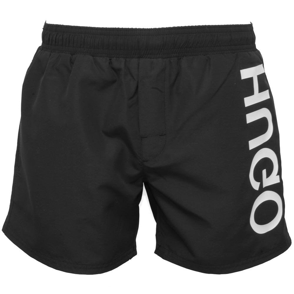 ae5d10b788 Hugo Saba Swim Shorts, Black | HUGO Hugo Boss swim shorts | UnderU