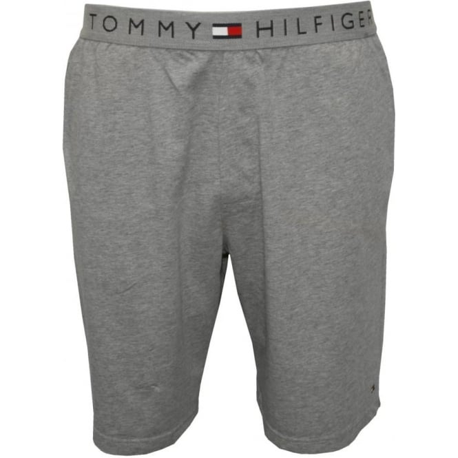 Tommy Hilfiger Icon Cotton Jersey Lounge Shorts, Grey Heather
