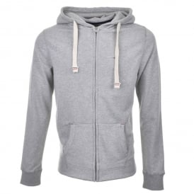 Icon Hawk Zip-Thru Tracksuit Hoodie, Heather Grey