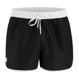 Iconic Sandro Athletic Swim Shorts, Black