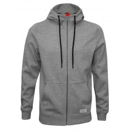 Jersey Cotton Tracksuit Hoodie, Light Grey Melange