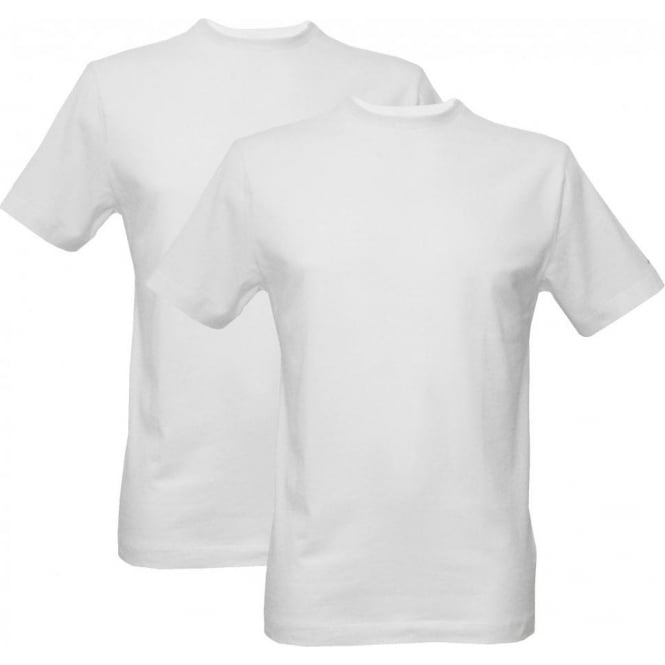 Jockey 2-Pack Modern Classic Crew-Neck T-Shirts, White