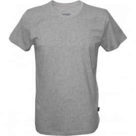 USA Originals American Crew Neck T-Shirt, Heather Grey