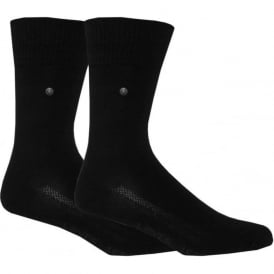 2-Pack 168sf Regular-Cut Socks, Black
