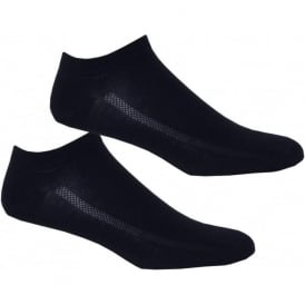 2-Pack 168sf Trainer Socks, Denim Blue