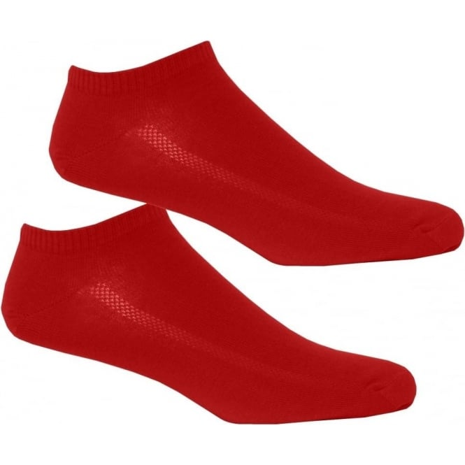 Levi's 2-Pack 168sf Trainer Socks, Red