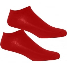 2-Pack 168sf Trainer Socks, Red