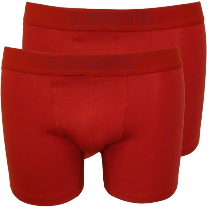 Levi's 2-Pack 200sf Boxer Briefs, Red