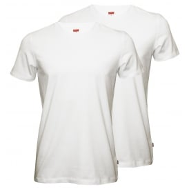 2-Pack 200sf Crew-Neck T-Shirts, Classic White