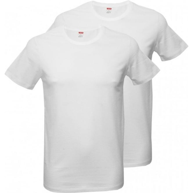 Levi's 2-Pack 200sf Crew-neck T-Shirts, White