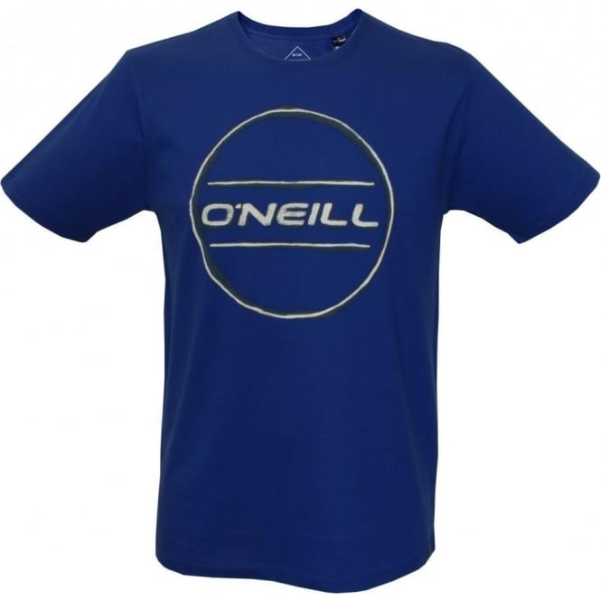O'Neill LM Painted Logo Crew-Neck T-Shirt, Blue
