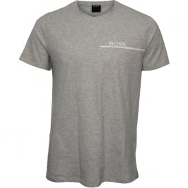 Luxe Cotton 24 Crew-Neck T-Shirt, Light Grey