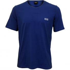 Luxe Jersey Crew-Neck T-Shirt, Royal Blue