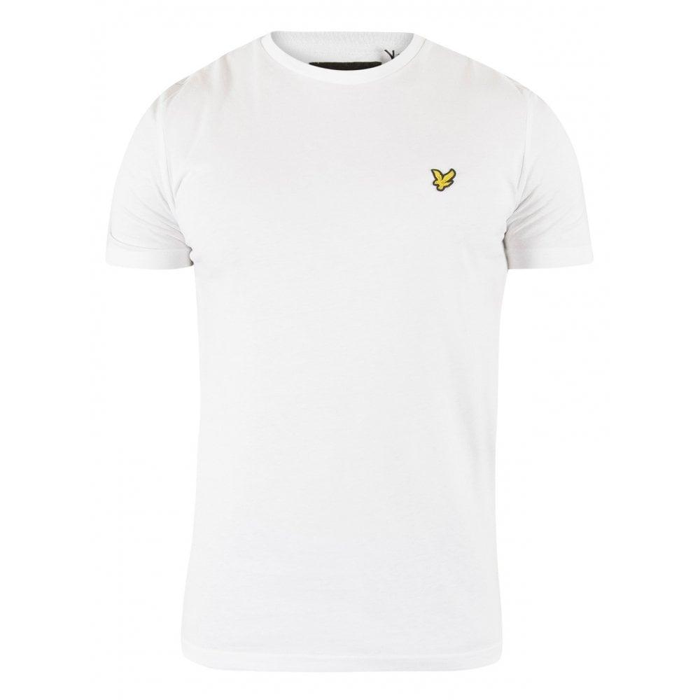 f617a6e4 Lyle & Scott Classic Crew-Neck T-Shirt, White | UnderU