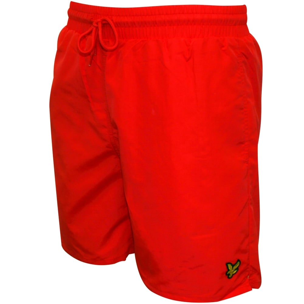 2da6881495 Lyle & Scott Classic Swim Shorts, Red | Lyle & Scott swim shorts ...