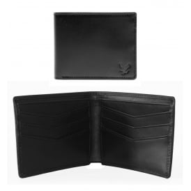 Classic Vintage Leather Wallet, Black