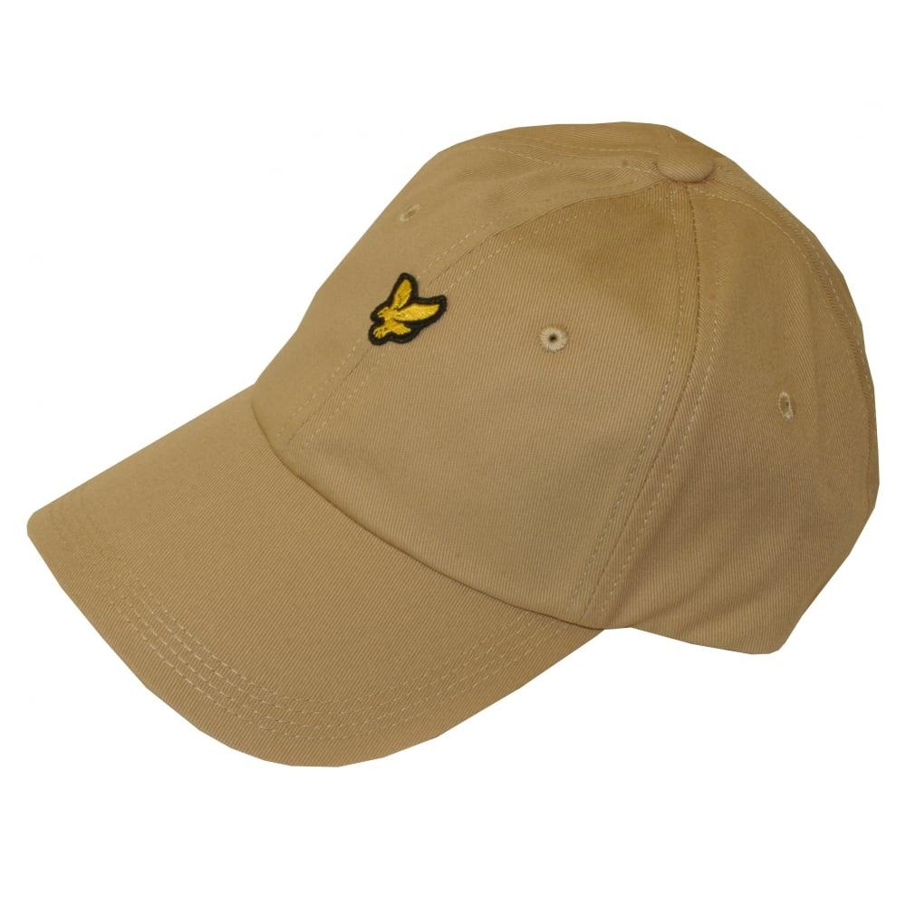 b74cee2a829c3c Lyle & Scott Cotton Twill Classic Baseball Cap, Stone | UnderU