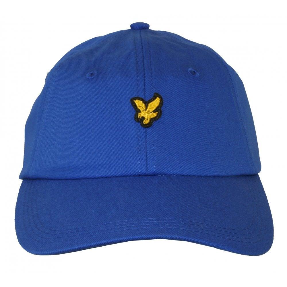 ca1e5f22fea3 Cotton Twill Classic Baseball Cap, Blue | Lyle & Scott caps | UnderU