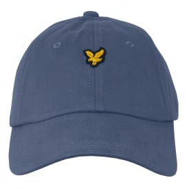 Cotton Twill Classic Baseball Cap, Dusty Blue