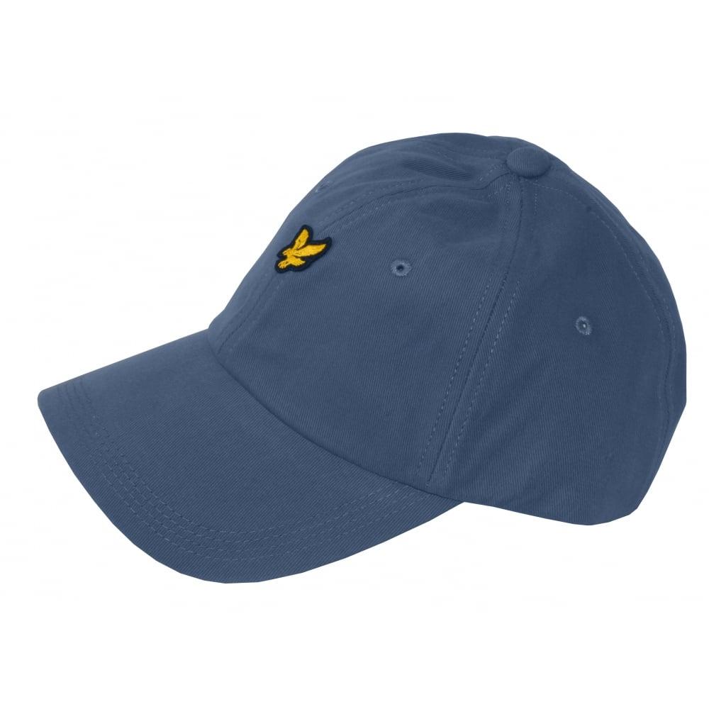 da3c4b78b01b Lyle & Scott Cotton Twill Classic Baseball Cap, Dusty Blue | UnderU