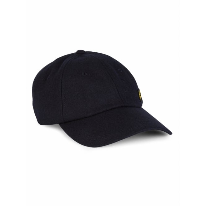 Lyle & Scott Woollen Baseball Cap, New Navy
